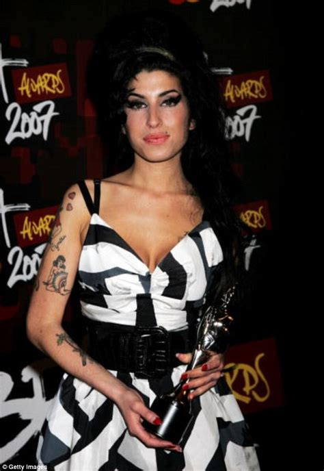 Winehouse Nabs A Brit Award winehouse to compete for best gong at brit