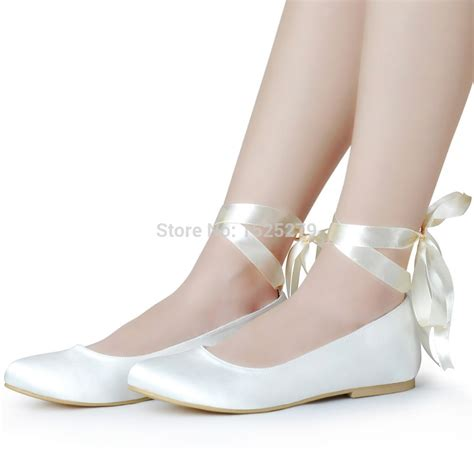 Popular Ivory Wedding Ballet Flats Buy Cheap Ivory Wedding