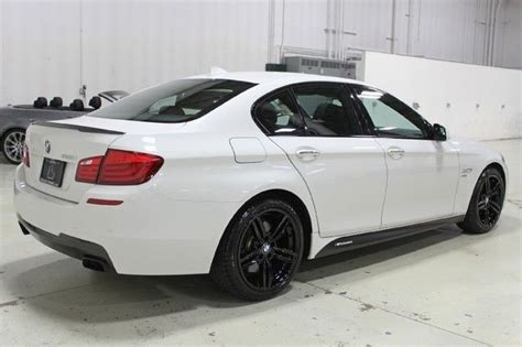 bmw 5 series 2012 bmw 550i xdrive m sport sedan ebay 12 550i xdrive m sport gps white convenience cold black 19 wheels rare clean il