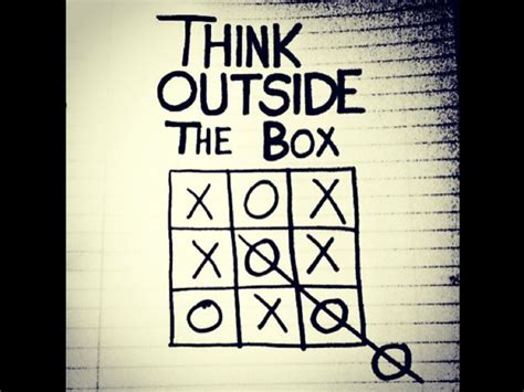 Dgil Marketing Think Like There Is No Box Oleh Ahmad Bambang i think outside the box do you quote quotes the box retail and quotes