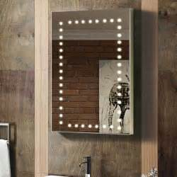 Bq Bathroom Mirrors Style Modern Bathroom Mirror With Lights Built In At B Q View Style Modern