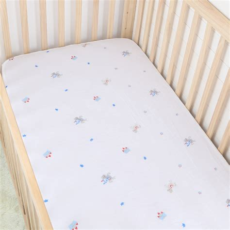 Fitted Baby Crib Sheets by Prince Cotton Muslin Baby Fitted Crib Sheet