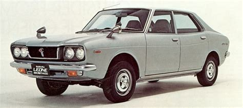 Early Subaru Models