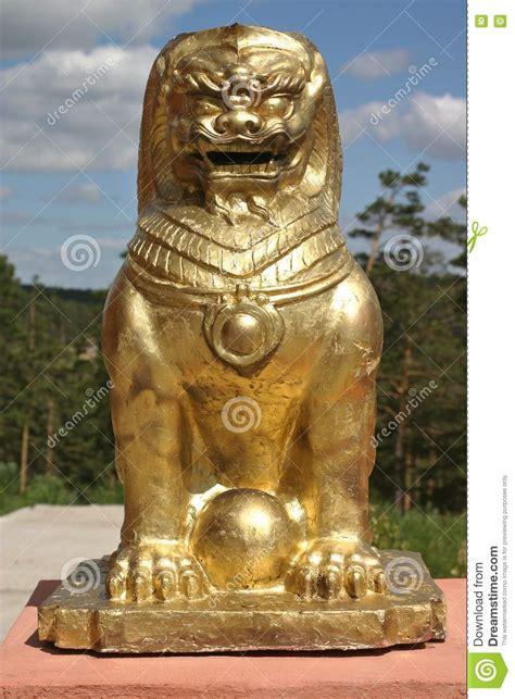 buddhist lion royalty  stock image image