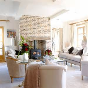 style interiors in converted barn in