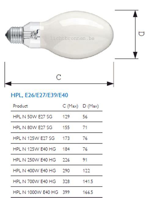 Lu Philips Hpl N 250w philips hpl n 250w 542 e40 l