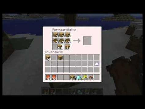 boekenkast minecraft wiki hoe maak je boeken kast hekje poortje deur enz youtube