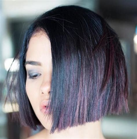 chin length dark hairstyles 17 best images about adventures in chin length bobs on