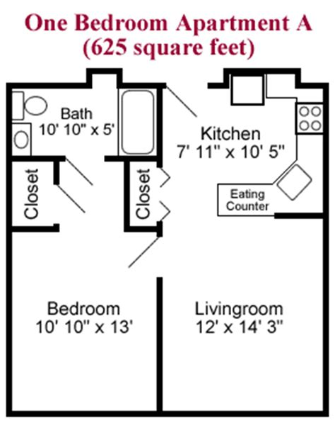 one bedroom apartment square footage one bedroom apartment square footage 28 images one