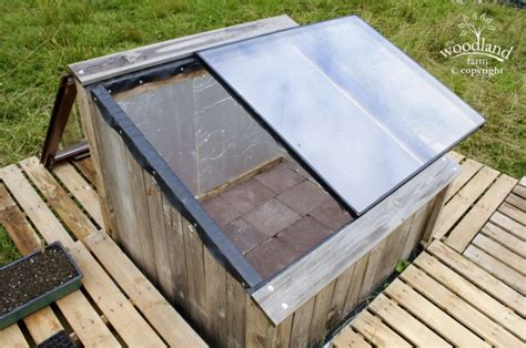 cold frame design uk the woodland farm 187 diy cold frames from salvaged materials