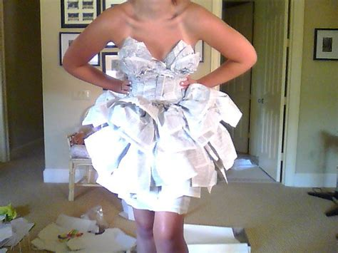Make A Dress Out Of Paper - paper dresses caroline layne