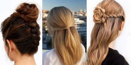 hairstyles for girls at home easy hairstyles for girls to do at home