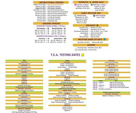 Cisd School Calendar Downs Elementary School District Calendar