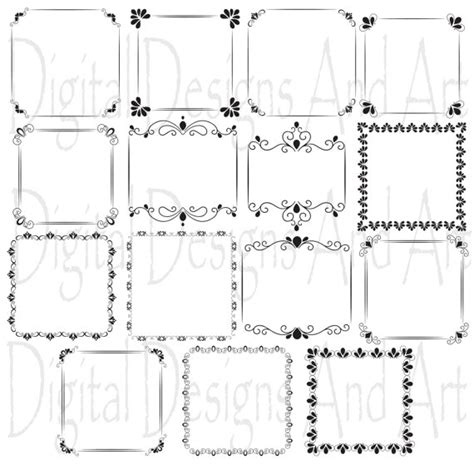 cornici matrimonio wedding clipart wedding digital frames digital clip