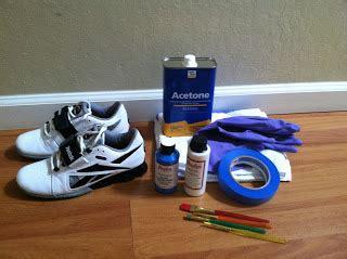 angelus paint duller diy how to paint your reebok crossfit shoes джингер