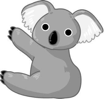 clipart koala animal clip