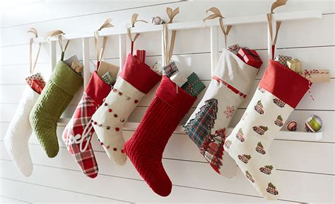 hang stockings without mantle how to hang without nails pottery barn