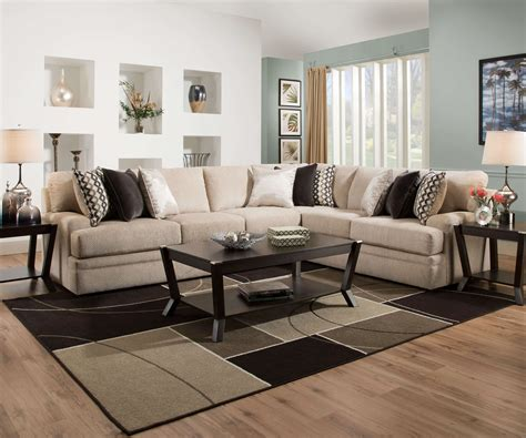 simmons bellamy taupe sofa bellamy putty sectional by simmons sectional sofa sets