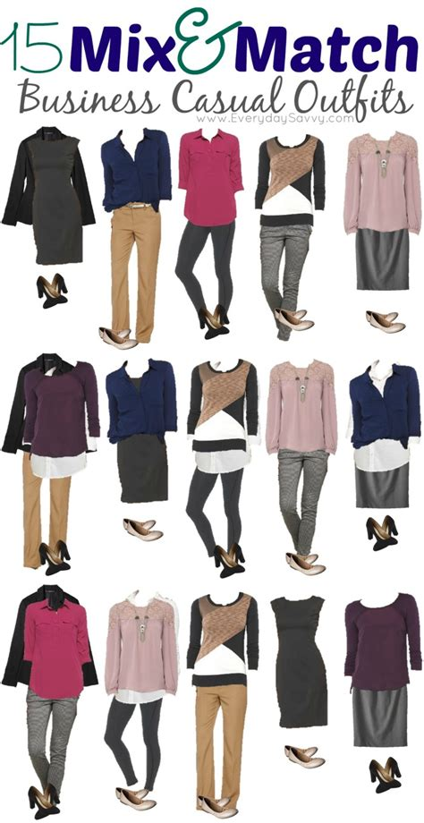 Mix And Match Wardrobe by 15 Mix And Match Business Casual From Target