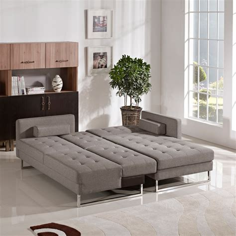 divani casa smith modern brown fabric sectional sofa sofa beds divani casa smith modern brown fabric sectional
