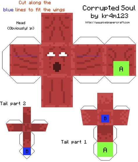 Minecraft Papercraft Mod - 169 best images about n8 s epic minecraft board on