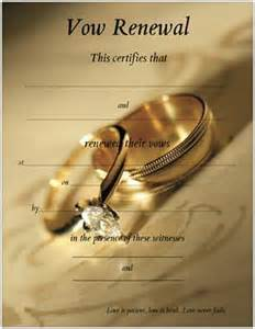 promised hearts inc vow renewal certificates
