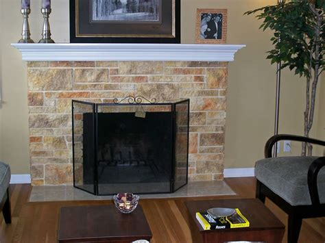 faux painting fireplace brick design gallery fireplaces