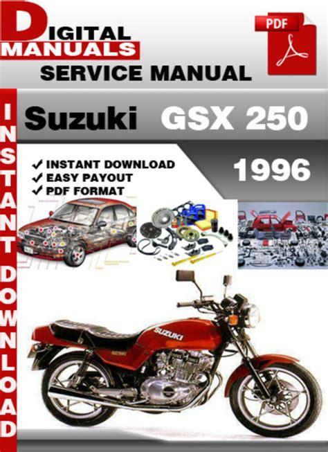 car service manuals pdf 1996 suzuki x 90 windshield wipe control suzuki gsx 250 1996 factory service repair manual pdf download ma