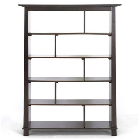 brown bookshelves bookcase in brown rt157d occ h
