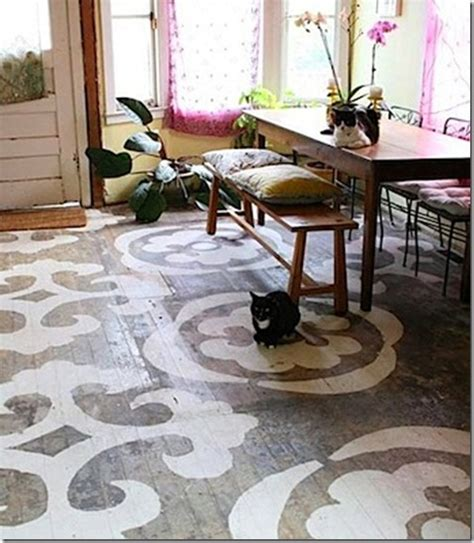 Painted Floors by Painted Wood Floors Ideas