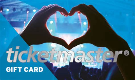 Ticket Master Gift Card - get mum what she really wants mother s day gift ideas tmblog uk