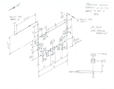 section 12b piping designers com section 12b measuring field pipe