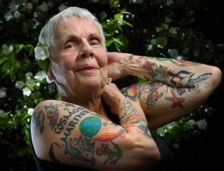 old person with tattoos 41 best images about with tattoos on