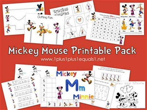 Disney Mickey Mouse Ideas Free Printables - the activity 30 disney themed activities the