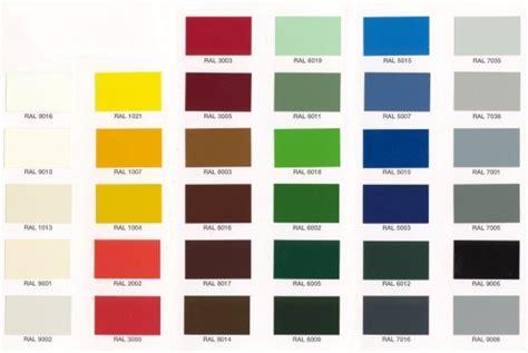 tavola colori ral for clip serramenti pvc rivestimento alluminio for x