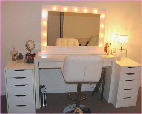vanity desk with lighted mirror the most amazing bedroom vanity sets with lighted mirror