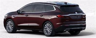 Buick Enclave Colors 2018 Buick Enclave Color Options Palmen Buick Gmc Cadillac