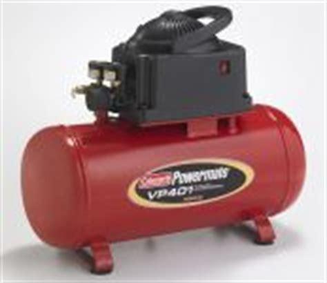 coleman sanborn portable air compressor parts