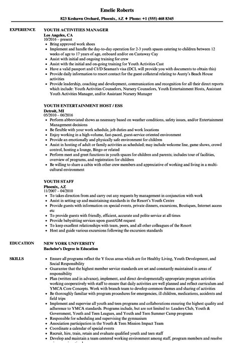 youth resume template youth resume sles velvet