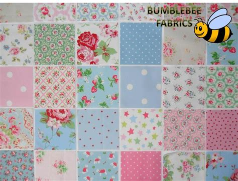 Cath Kidston Patchwork - cath kidston fabric patchwork 10cm x 10 cm squares