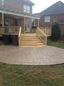 this northwest winston salem nc deck patio and pergola - Deck Patio Combination