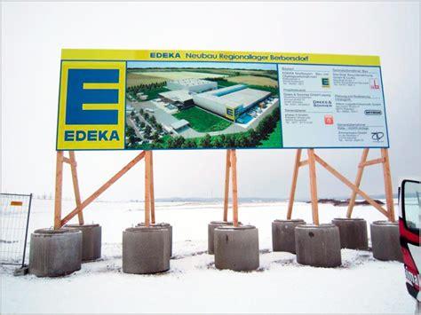 Bauschild Größe by Bauschilder Werbung Optimal Ihr Partner F 252 R Werbung In