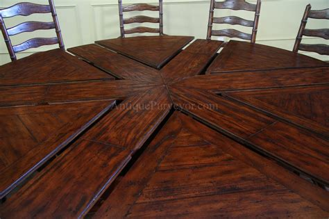pie shaped dining table rustic to dining table with leaves