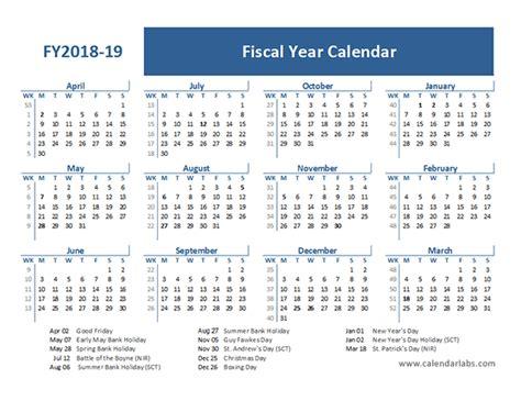fiscal year calendar template uk  printable templates