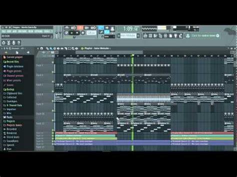 tutorial fl studio martin garrix dragon martin garrix remake tutorial with free flp youtube