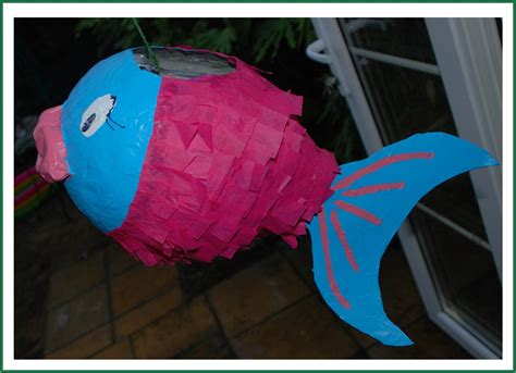 How To Make A Paper Mache Pinata Without A Balloon - how to make a paper m 226 ch 233 pi 241 ata fish redtedart s