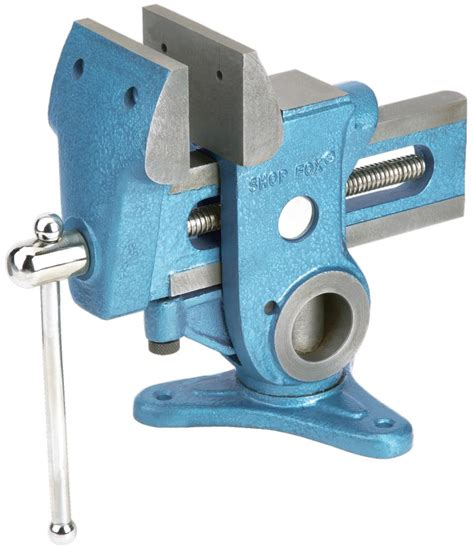 shop fox bench vise bench vises parrot vise workholding power tools wood shop fox 360 degrees ebay