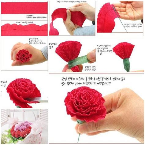 How To Make An Easy Flower Out Of Paper - 17 best ideas about easy paper flowers on