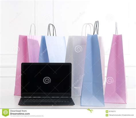 Bags On The Floor by Shopping Bags Stock Photo Image 62782272