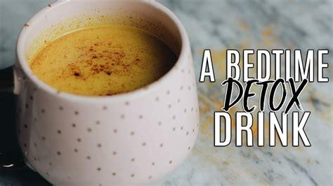Bedtime Detox Drink by My Golden Milk Recipe The Best Bedtime Detox Drink